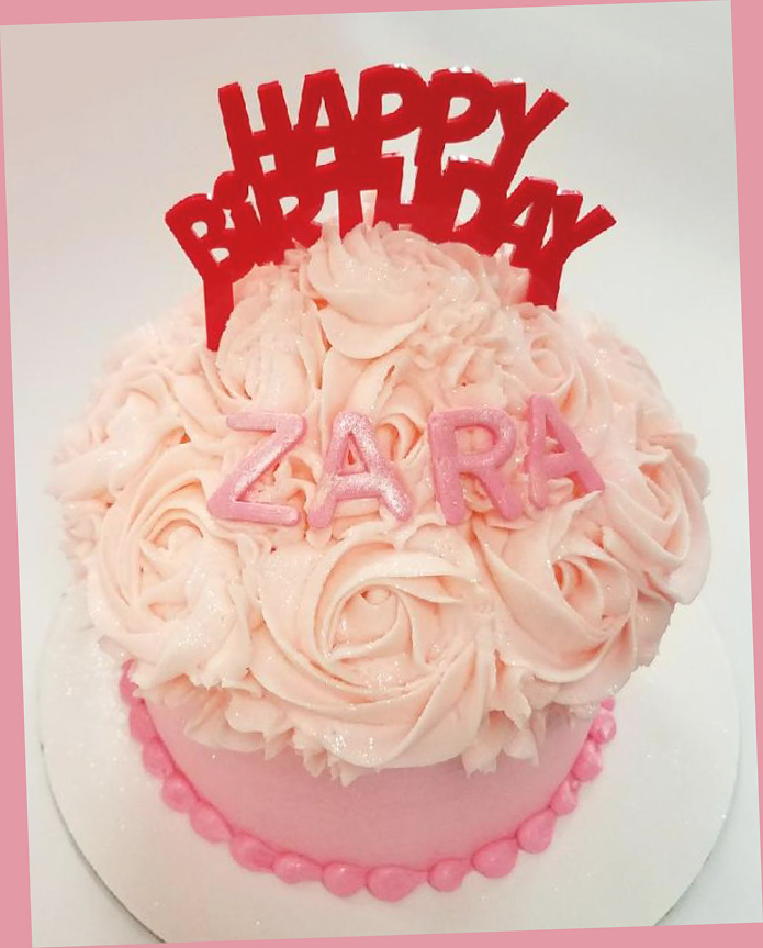 Angies 1st cupcake cake 2