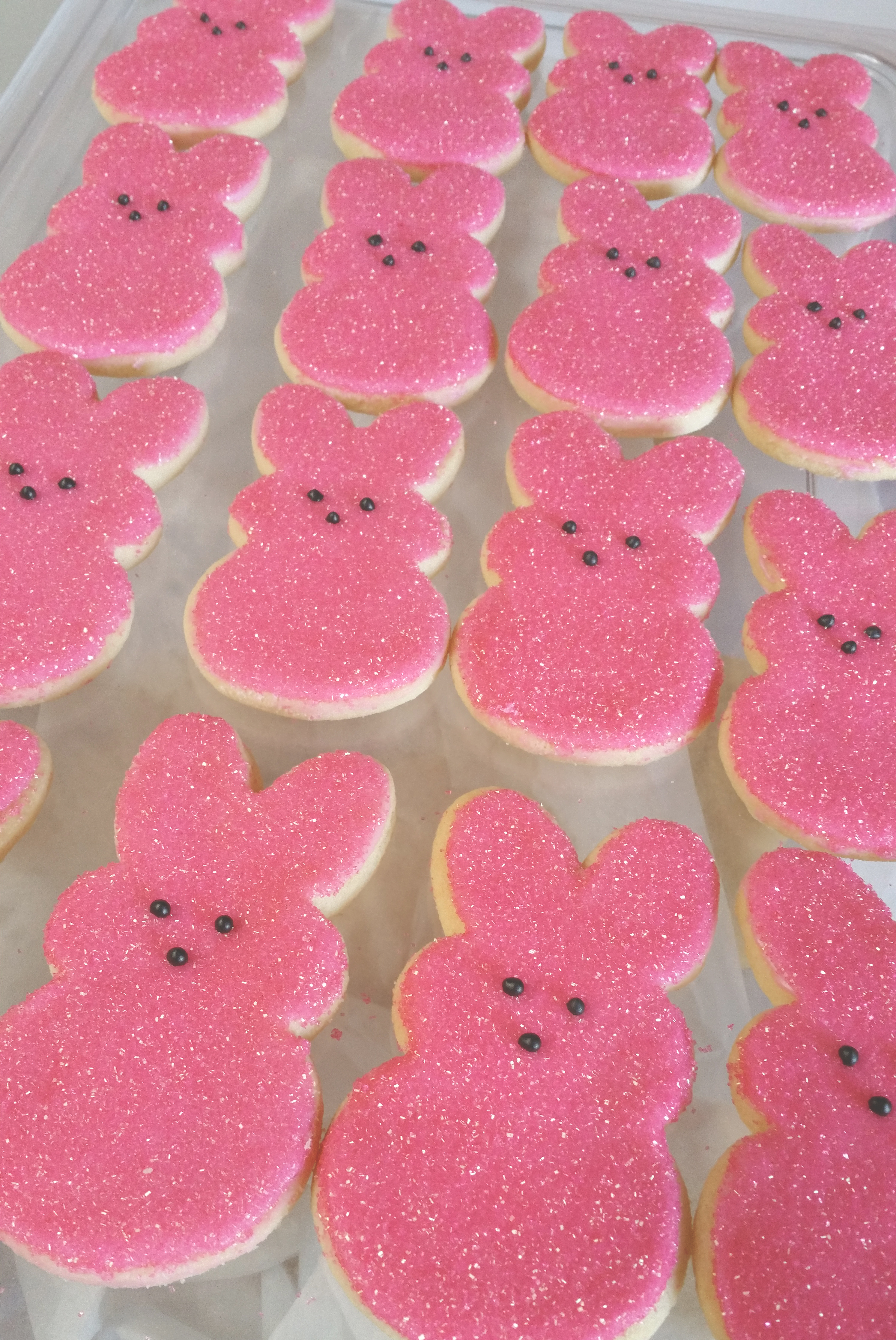 Cuppies Peep Cookies