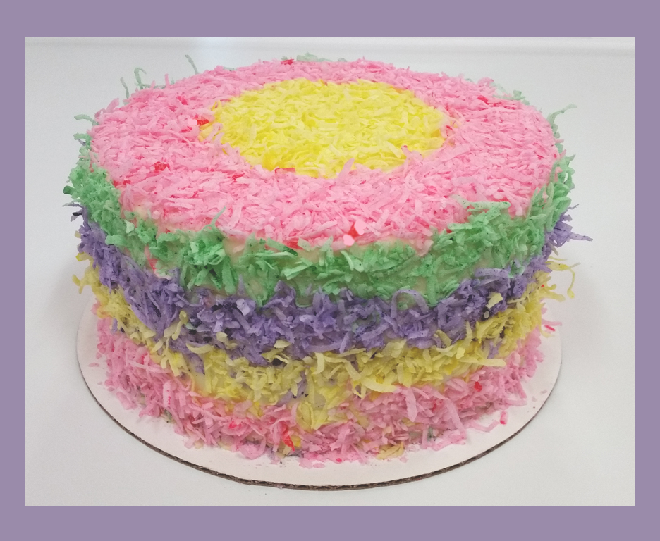 Cuppies Pinata Cake Purple Frame