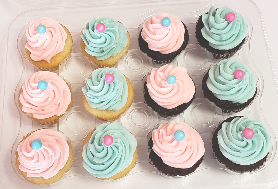Baby Shower Cupcakes 2020