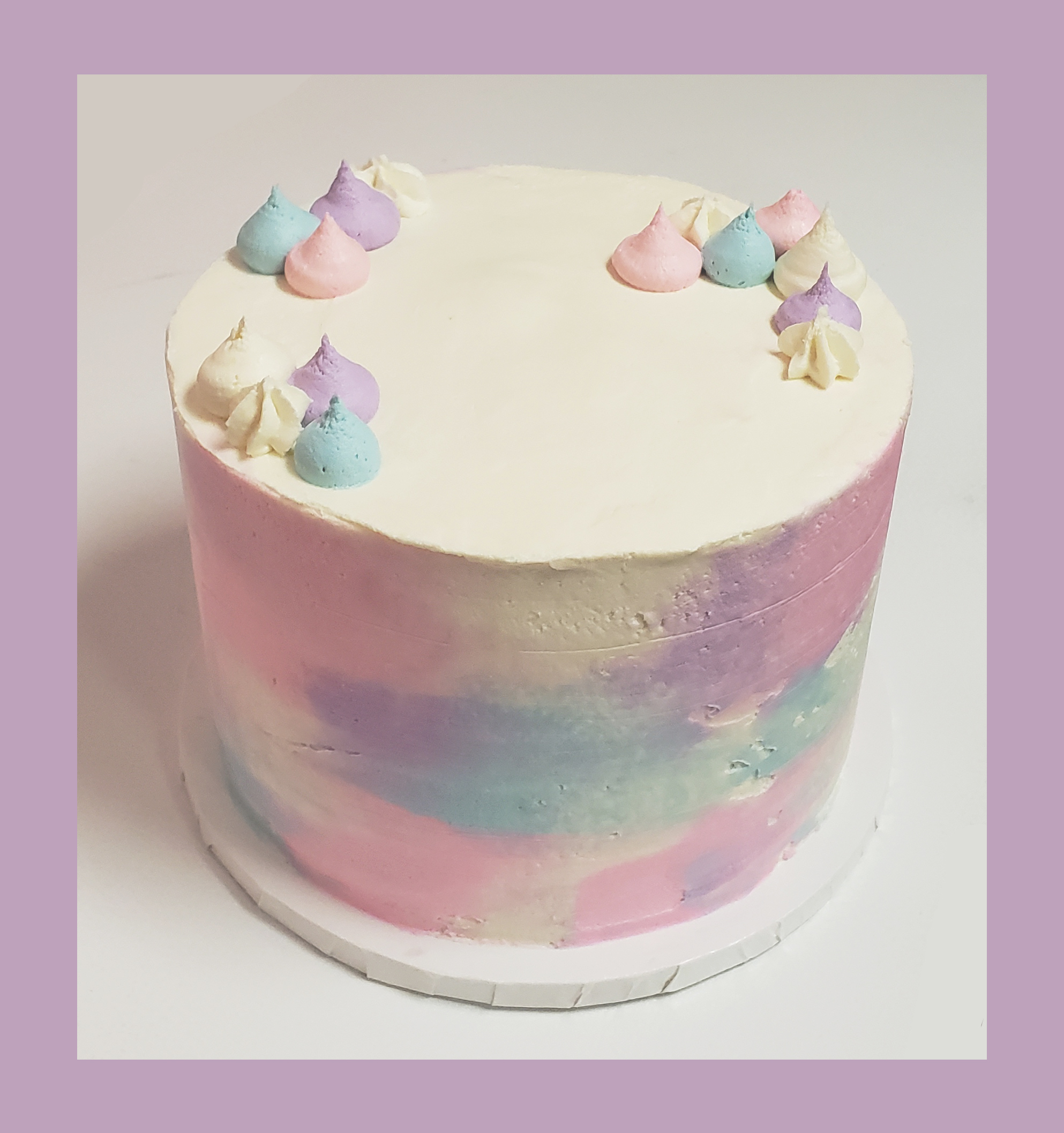 Watercolor Cake 2020