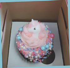 Uni Mermaid Cupcake Ind