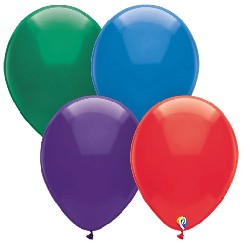 Assorted Colorful Balloons