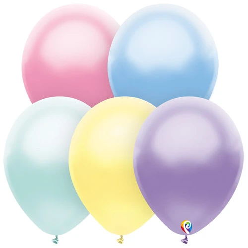 Assorted Colorful Pastel Balloons