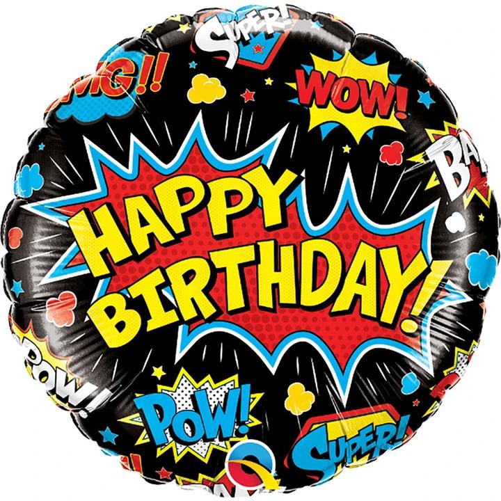 Comic Mylar Balloon
