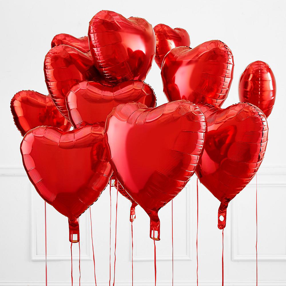 Red Heart Mylar